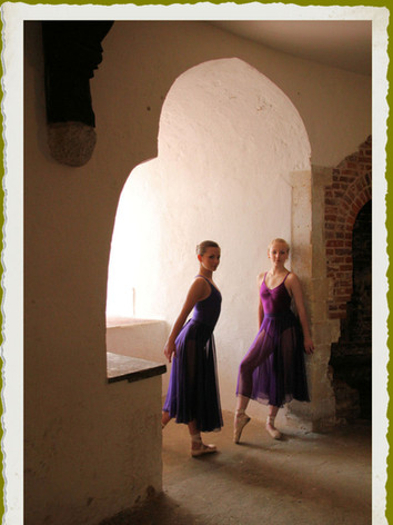 Taken at Deal Castle for Barney's 2012 Ballet & Contemporary Dance calendar