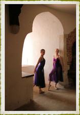 Ballerinas at Deal Castle in Kent