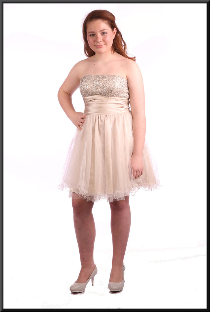 """gold and silver, size 10; model height 5'4"""""""