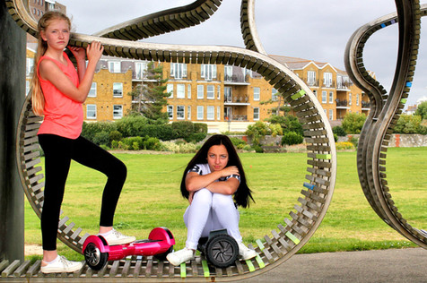 For client Bluefin (UK) hover boards