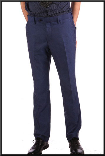 Men's trousers W 32 I 31 regular cobalt blue