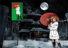 Rima vampire doll cosplay