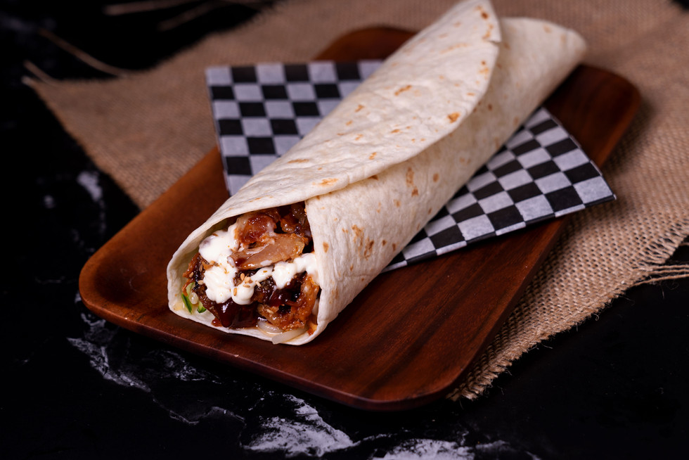 Aladdin BBQ Chicken Wrap