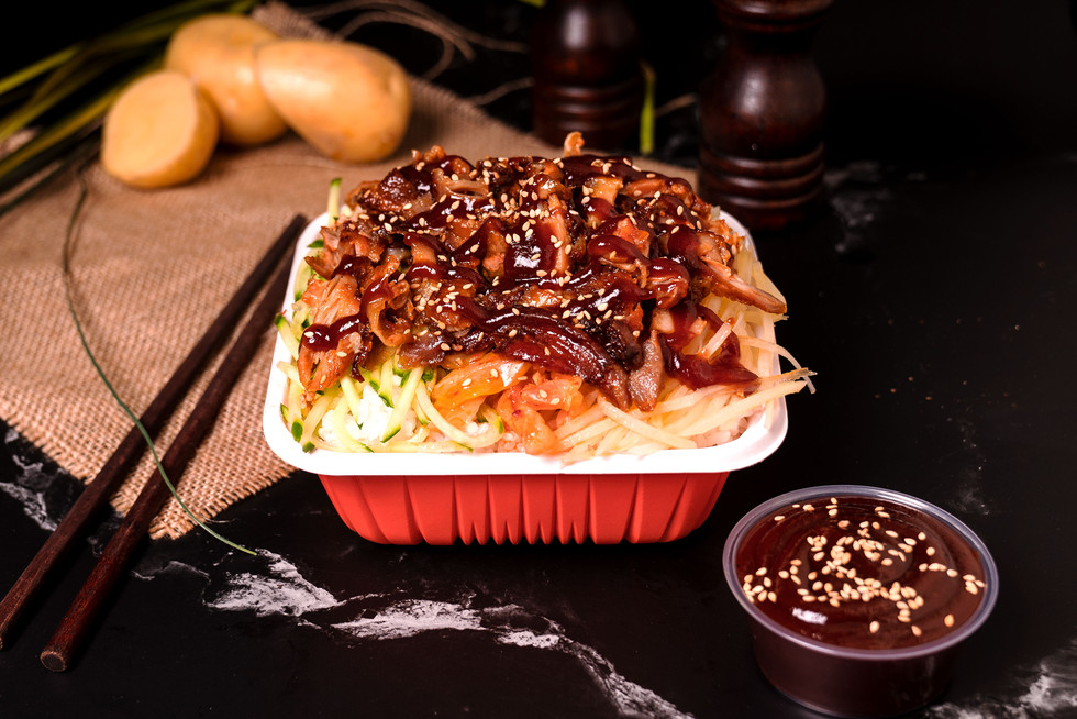 Aladdin BBQ Chicken Rice - BBQ