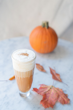 Deer Cha - Pumpkin Black Tea Latte