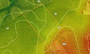 Lidar and NCS Soil survey of a property in South Carolina