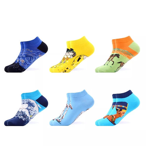 Pack 4 pairs ankle sock 1
