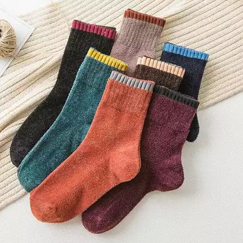 Pack de 5 unidades de calcetín invierno