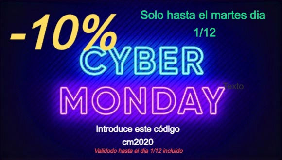 ciber monday -10%