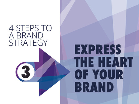 BUILDING A BRAND STRATEGY.   STEP 3: Communicating the Essence of your Brand