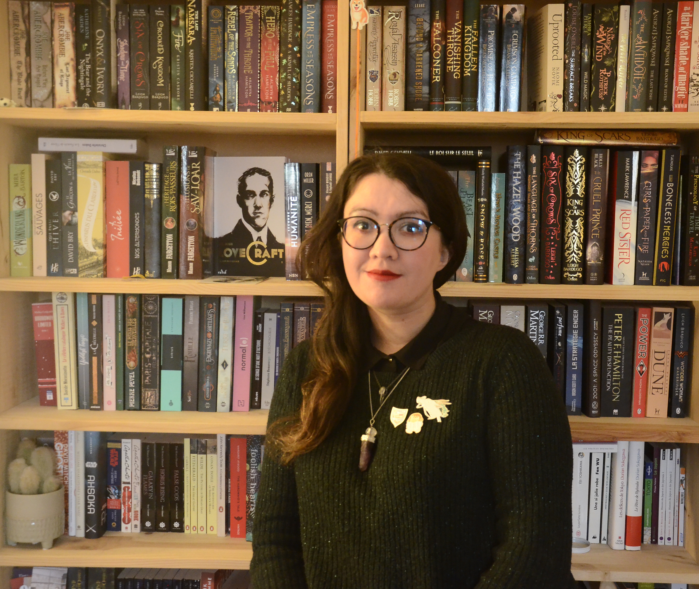 Laura, Libraire Kube