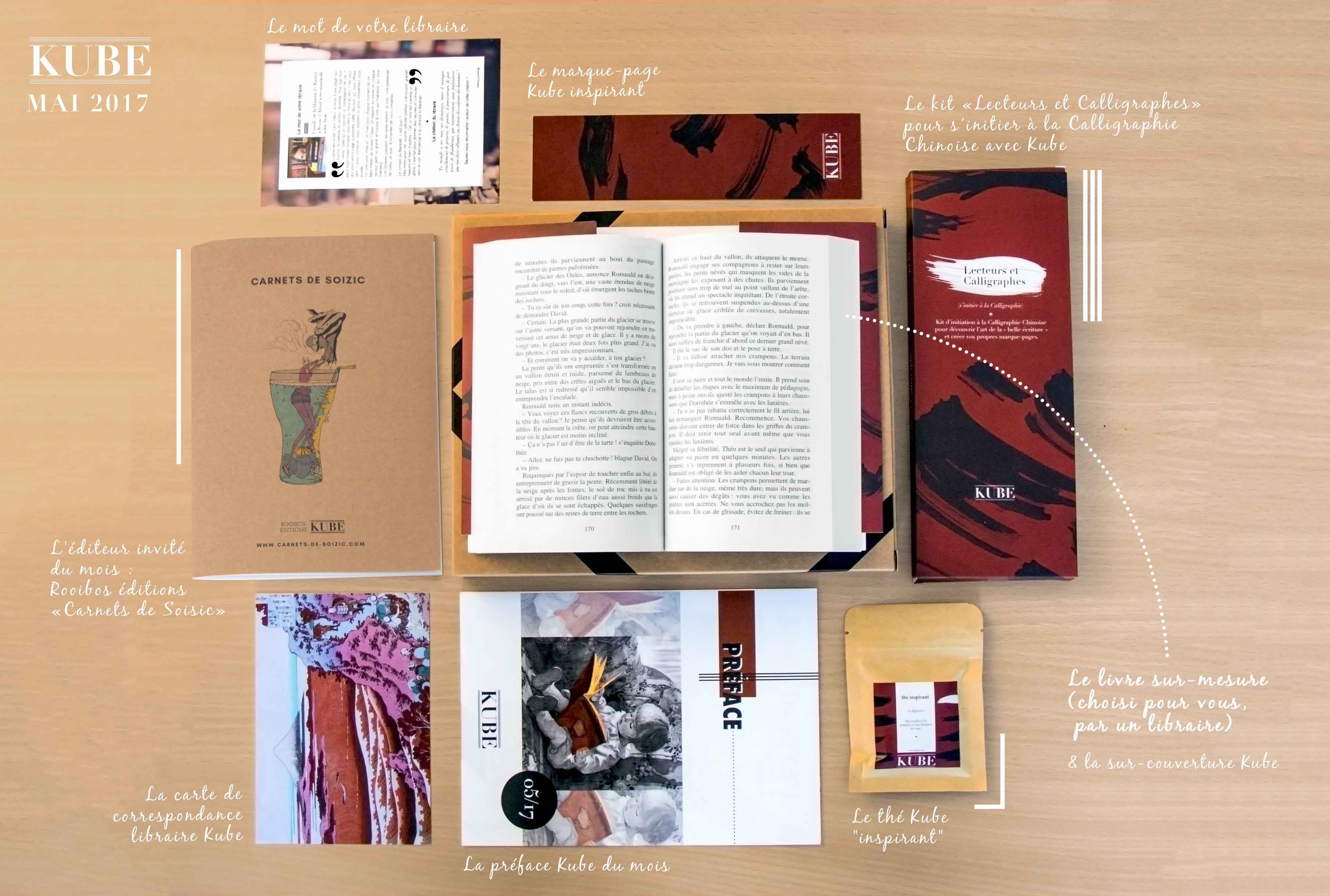 La Kube Lecteurs et Calligraphes
