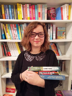 Gaëlle, Libraire Kube