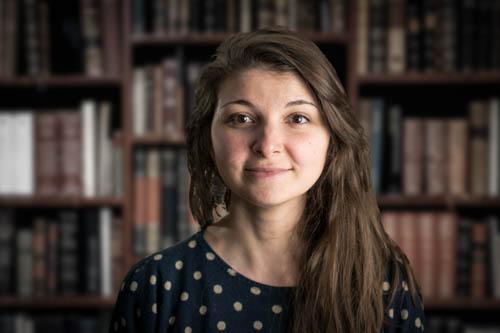Sarah P., Libraire Kube