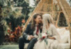 Boho wedding photography style