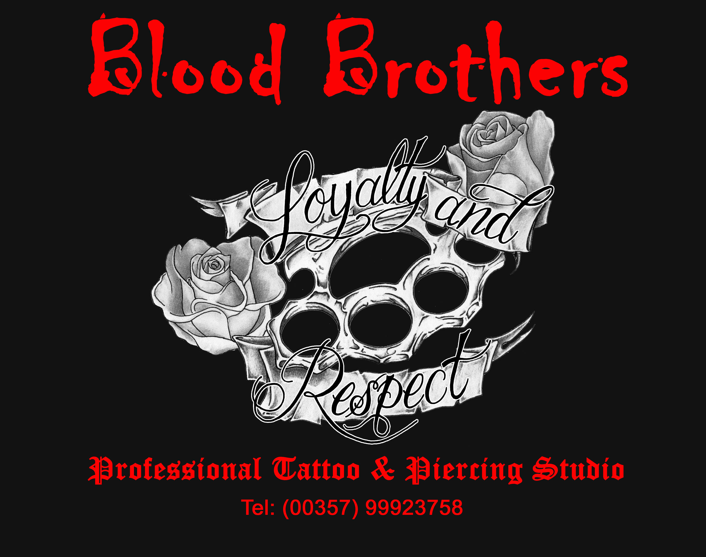 blood brothers tattoos and piercings studio ayia napa cyprus