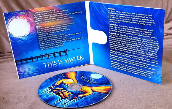 """COPY OF """"THIS IS WATER"""" CD!"""