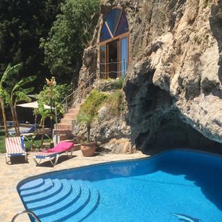 yoga retreat centre pool