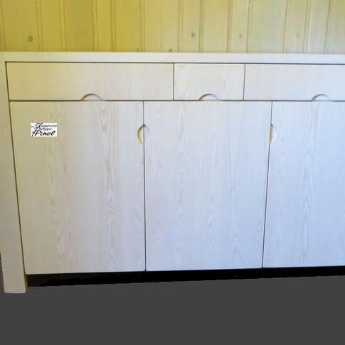 Enfilade 3 portes 3 tiroirs
