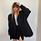 Thumbnail: oversized blazer in black