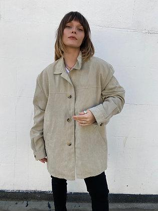 beige soft jacket