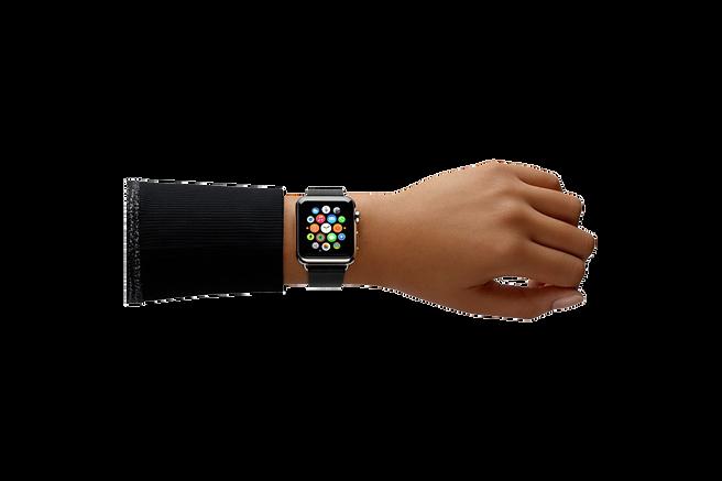 IONX silver watch app