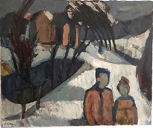 Bryan Senior oil painting