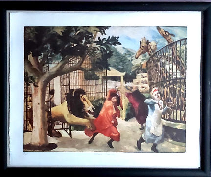 Carel Weight Lithograph