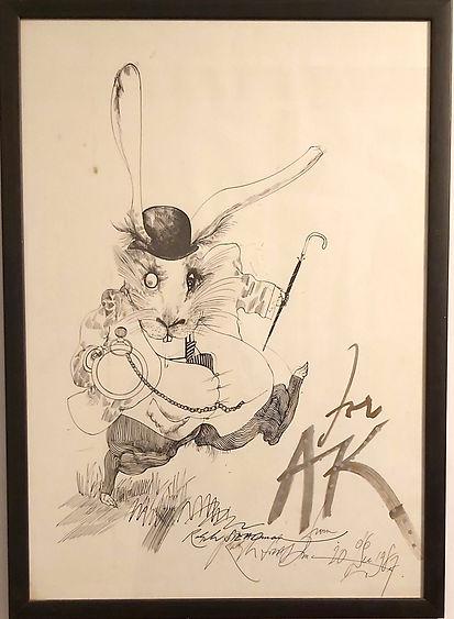 Ralph Steadman The White Rabbit