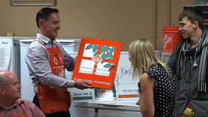 Kamloops Home Depot Donates to Help End Youth Homelessness