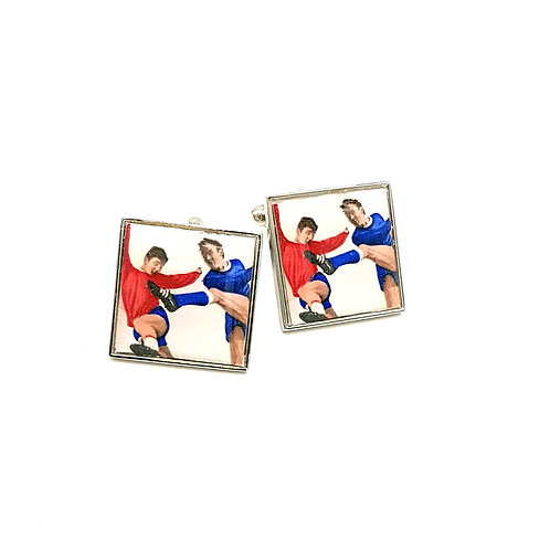 Football World Cup Cufflinks 1966