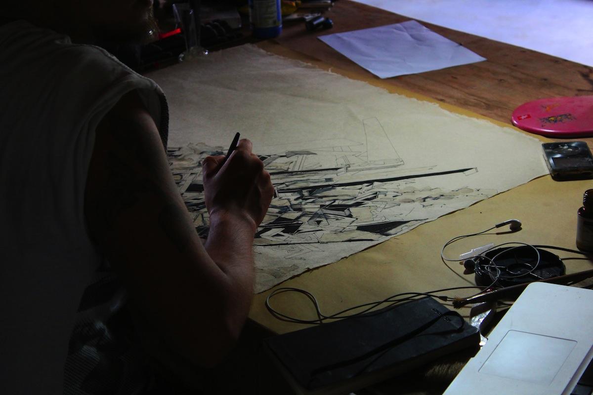 Itzio Barberena chez Tung2012©