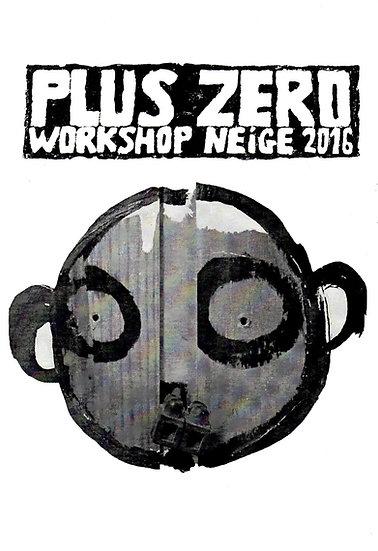 Fanzine Workshop Neige / Hiver 2016