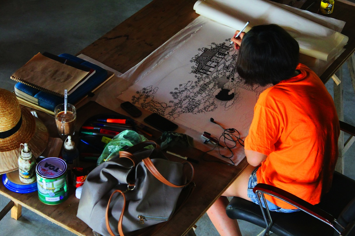 Ngo Thuy Duyen chez Tung2012©