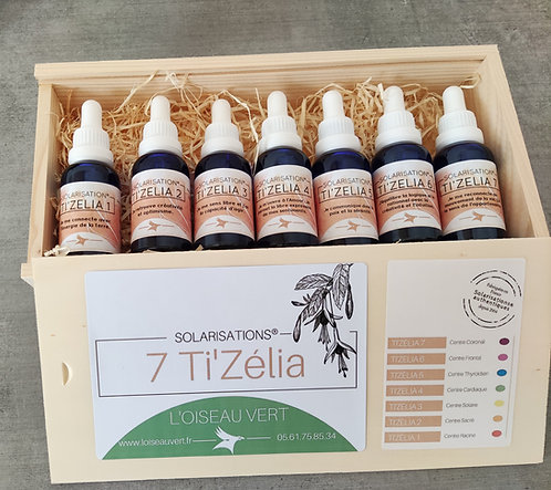 Gamme complète des 7 Ti Zélia