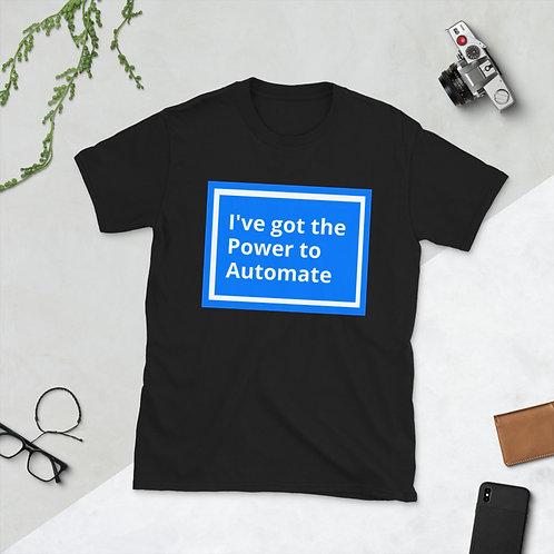 Power Automate Short-Sleeve Unisex T-Shirt