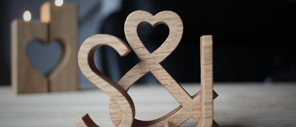 Love Letters - Modern - Oak