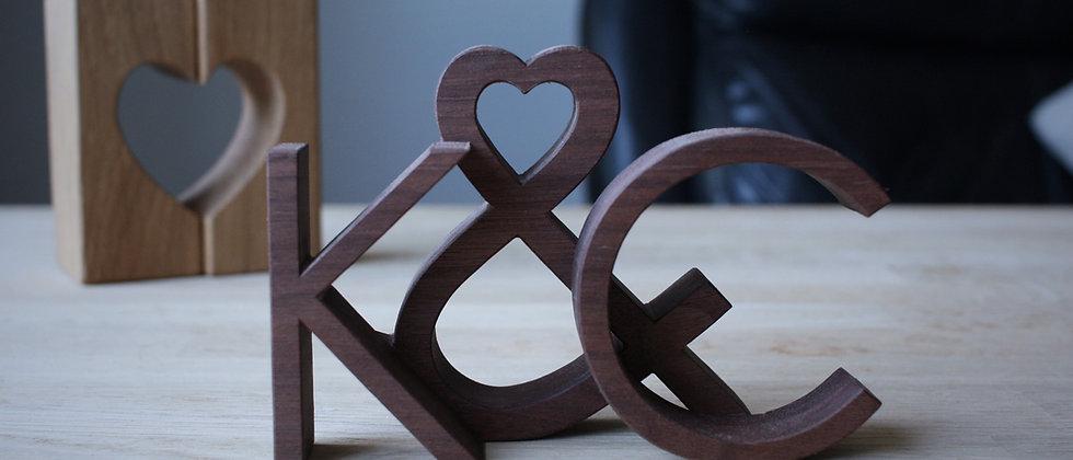 Love Letters - Modern - Walnut