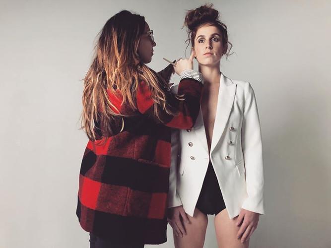 Behind the scenes 📸_Model_ Natalie Pedi