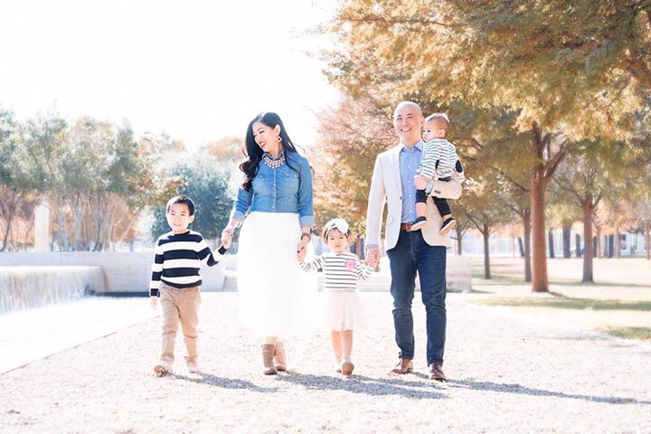 The beautiful Ng family! So amazing to s