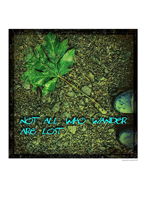 """NOT ALL WHO WANDER"" COLLECTION- each 8X10 framed"