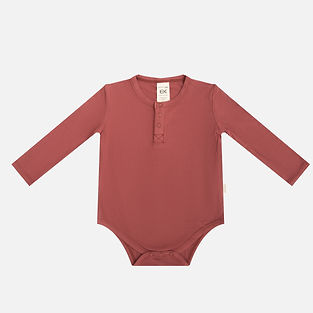 bamboo ribbed baby bodysuit