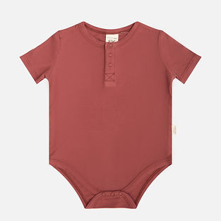 bamboo ribbed baby onesie