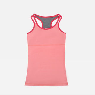 Wholesales Customized Bamboo Yoga Cross Back Tank for Women Vest Tops.jpg
