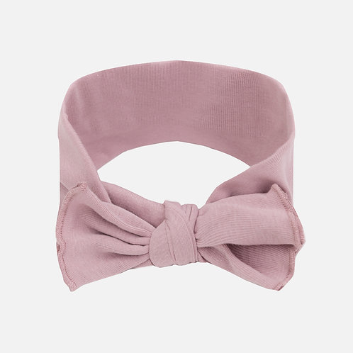 Organic Baby Headband | Pink Clay