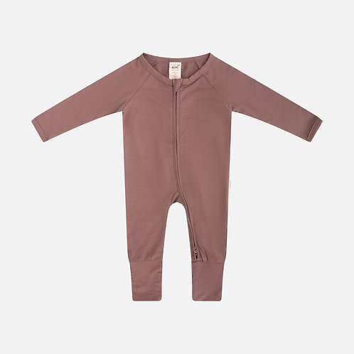 Organic Baby Romper | Burnt Orange