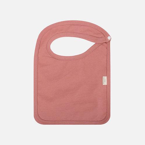 Organic Baby Bib | Pink Clay