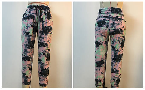 Sulimation Printing Flower Pants