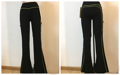Bamboo Yoga Fitted Flares