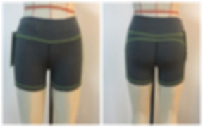 Bamboo Yoga Shorts